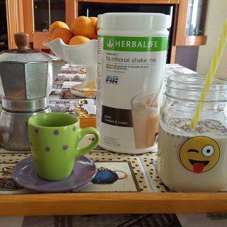 Prima colazione con lo shake Herbalife